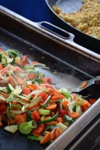 Frisches Gemüse für meinen Couscous